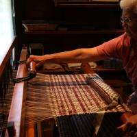 Weaving- rug making